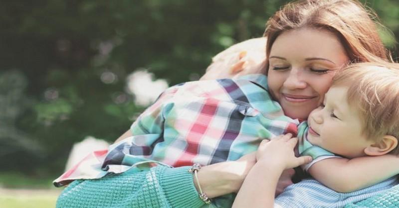 Kľúč k tomu, ako byť pokojnou mamou bez ohľadu na to, ako sa cítite