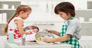 Upratovacia výzva pre deti